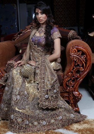 Heavy-Bridal-Lehenga-Choli-Designs