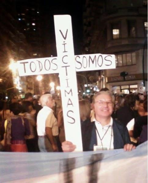 En las marchas la Cruz que marco una historia