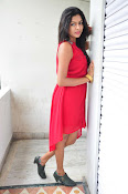Akshitha New Stills at Mounam Movie Launch-thumbnail-7
