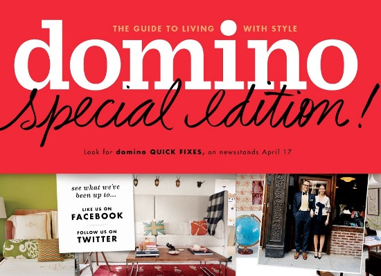Domino Mag, April 2012 special edition