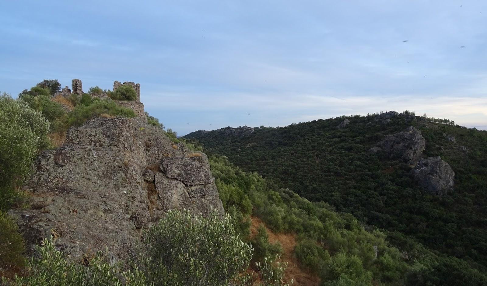 Castillo de Mayorga, en San Vicente de Alcántara