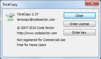 TeraCopy Version 2.27