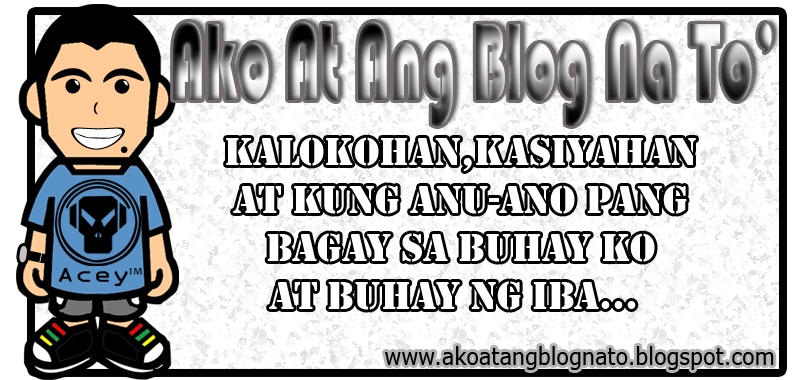 Ako At Ang Blog Na To'