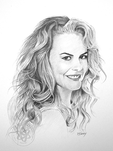 Best Celebrity Pencil Sketch 20
