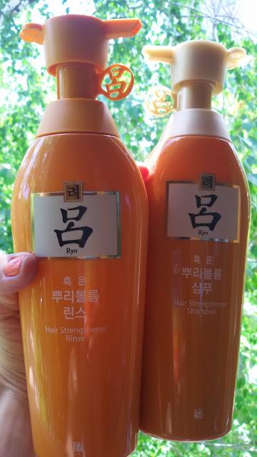 ориентальные (на травах) шампунь и опласкиватель Ryo