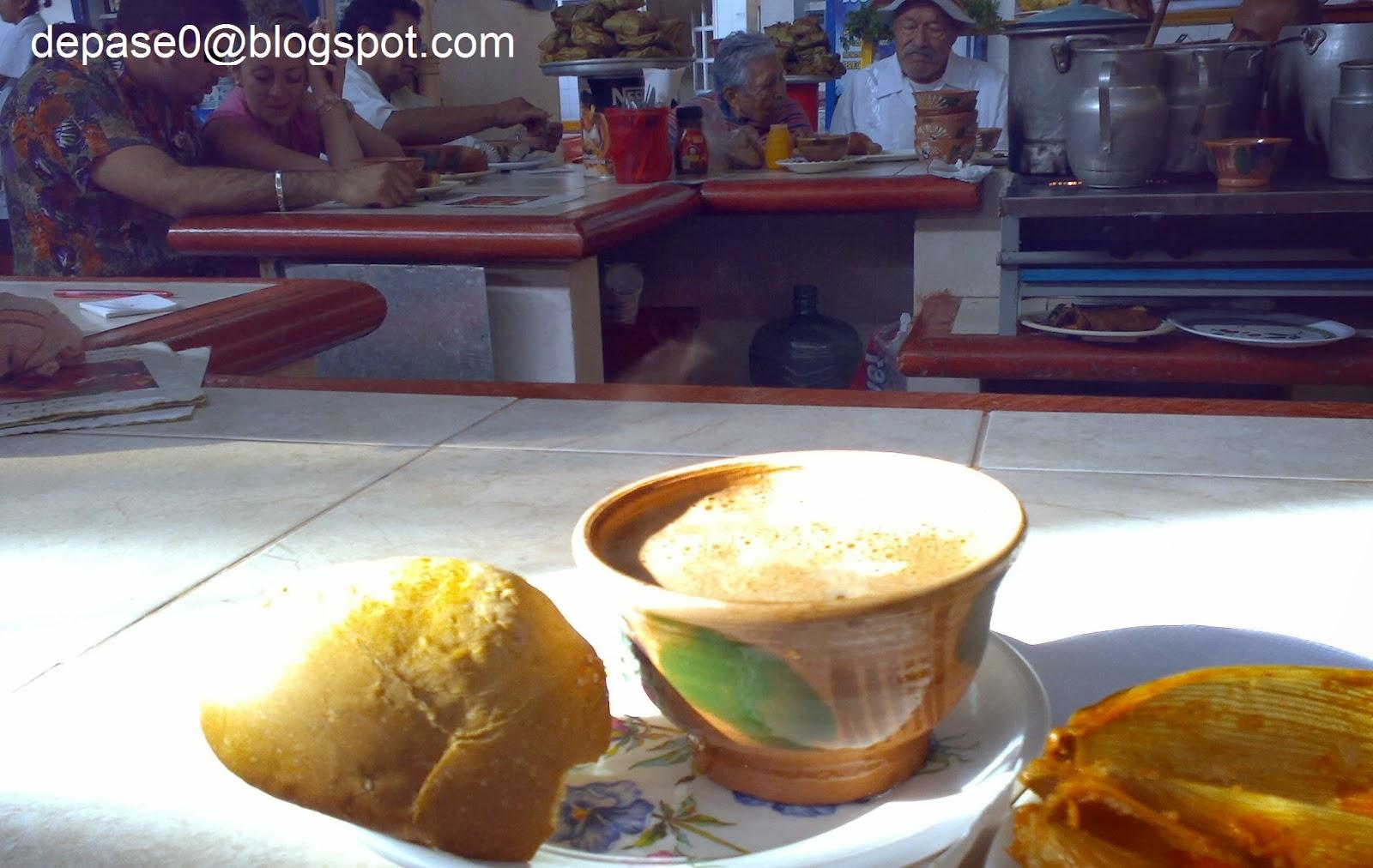 Pan de yema y Chocolate