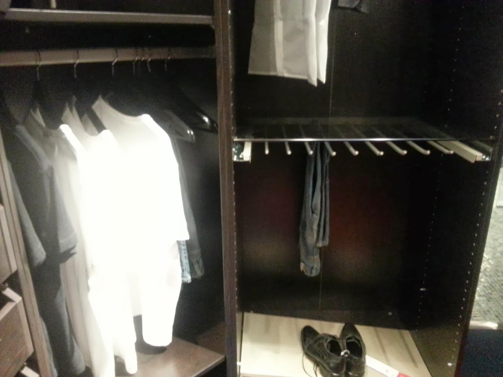Karoline: IKEA - garderobe