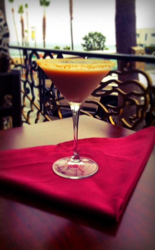 Susieqtpies cafe holiday drinks secret eggnog martini for Rock n fish manhattan beach