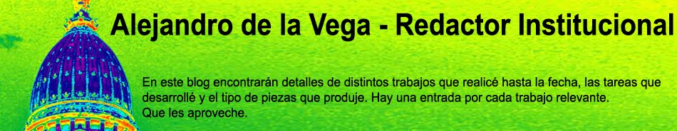 Alejandro de la Vega - Redactor Senior
