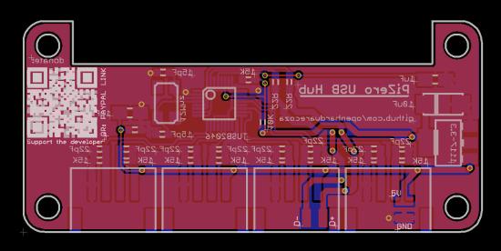 raspberry pi zero usb hub