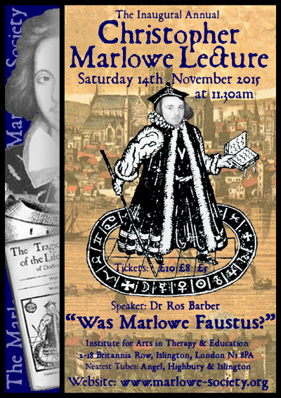 a review of christopher marlows 1588 play doctor faustus Doctor faustus (play) is an elizabethan tragedy by christopher marlowe that was first performed sometime between 1588 and marlowe's death in 1593.