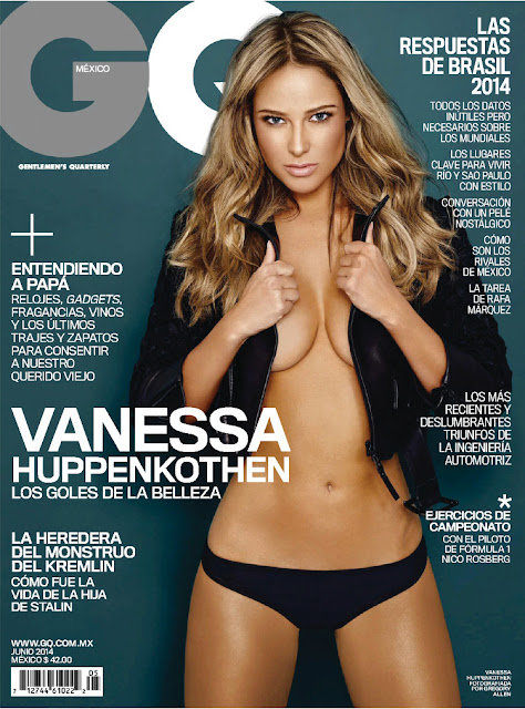 Actress, Model @ Vanessa Huppenkothen - GQ Mexico, June 2014