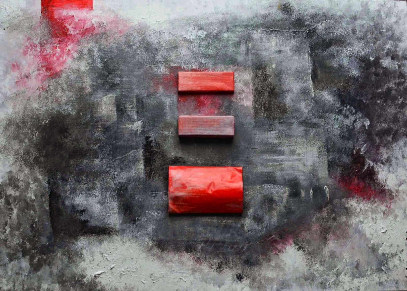abstrakcja szarości