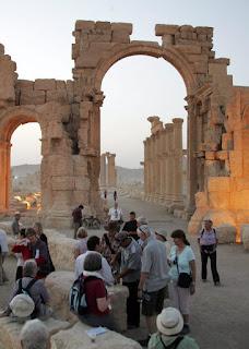 Iszlám Állam, Szíria, Palmüra, műemlékek, UNESCO, Bassár el- Aszad, polgárháború,