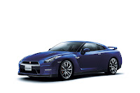 2012 MY Nissan GT-R official press media photo image picture high resolution original source facelift revised new generation enhanced restyled special exclusive edition 530hp Aurora Flare Blue Pearl