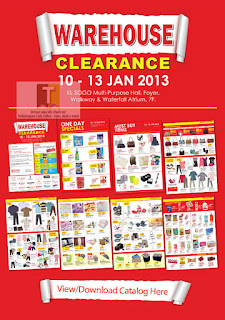 KL Sogo Warehouse Clearance Sale 2013