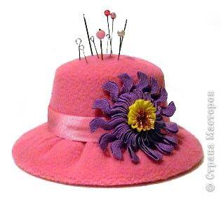 Zona de manualidades alfiletero sombrerito - Todo tipo de manualidades para hacer ...