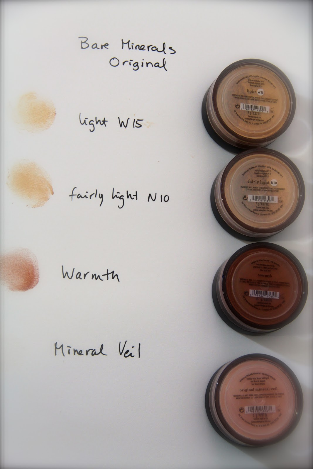 bare minerals startkit light