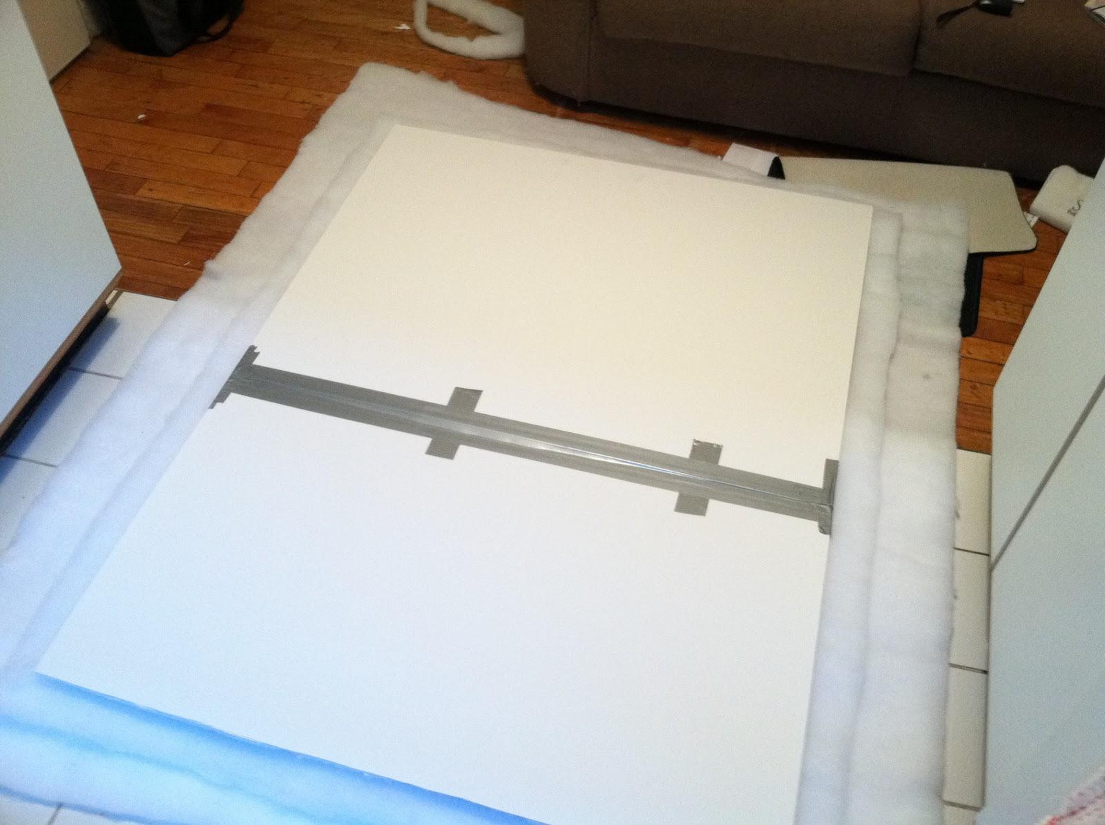 shttychic diy foam board head board, Headboard designs