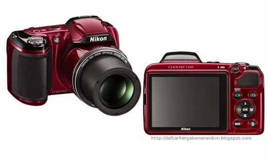 Harga dan Spesifikasi Kamera Nikon Coolpix L810