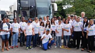 Parte da Delegação de Teresópolis: rumo à Olimpede 2015, em Volta Redonda