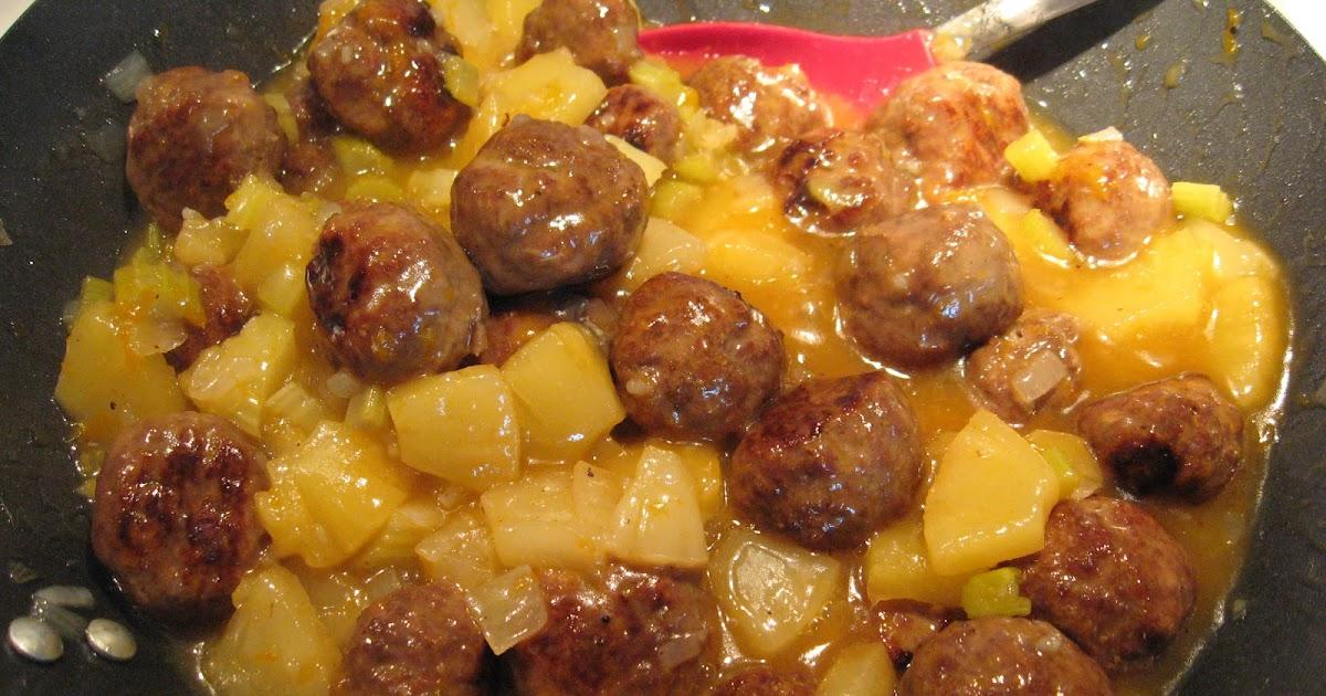Recettes de flipp boulettes de boeuf l 39 ananas - Recette de jamie oliver sur cuisine tv ...