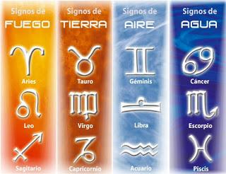 elementos signos horoscopo