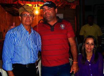 Robson Moreira  e esposa.
