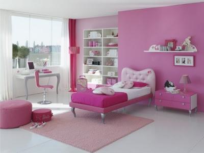 Complete Furniture Bedroom Design For Girl