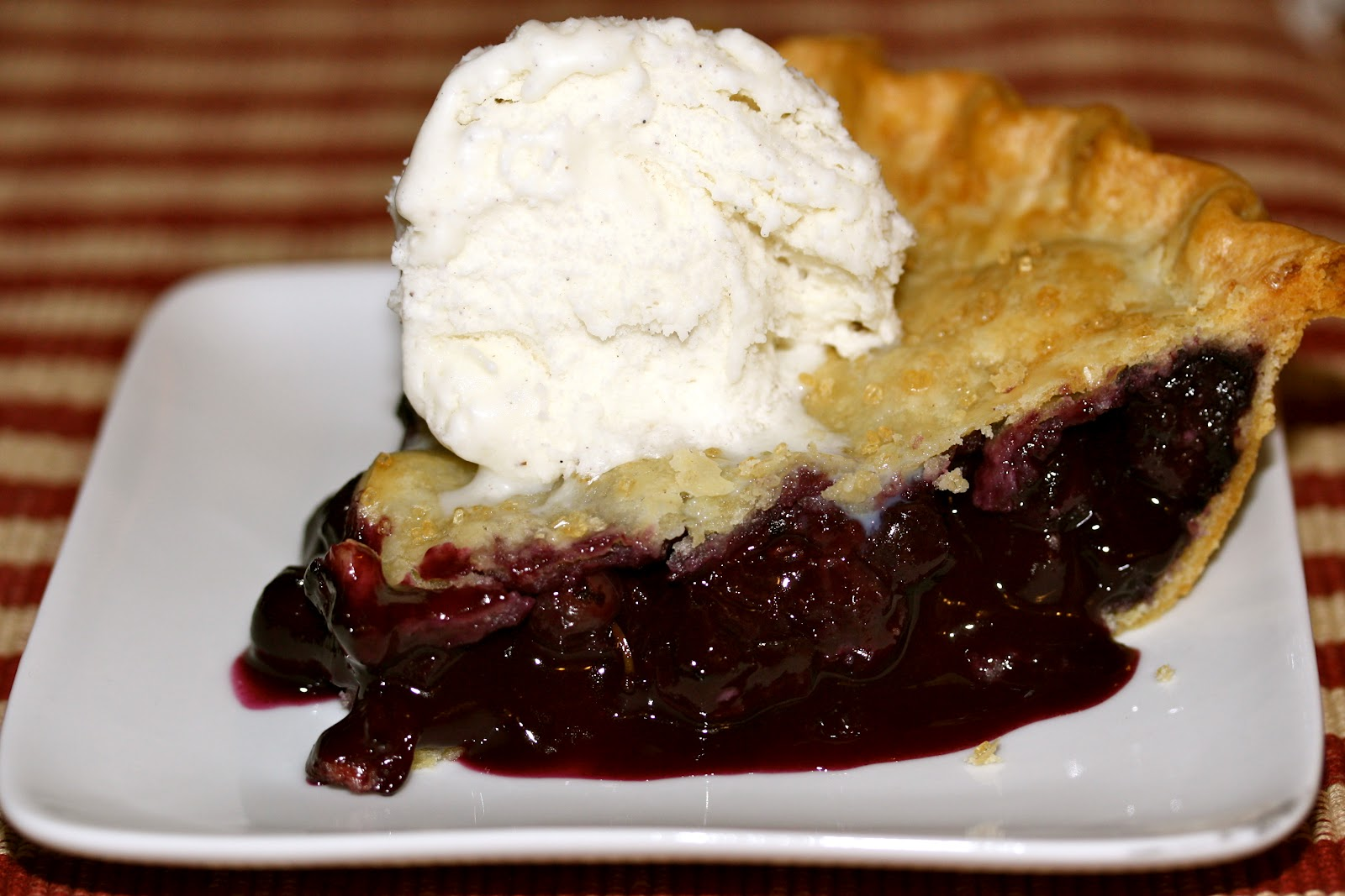 """This... and That...: Dessert Recipe: """"Blueberry Pie"""""""