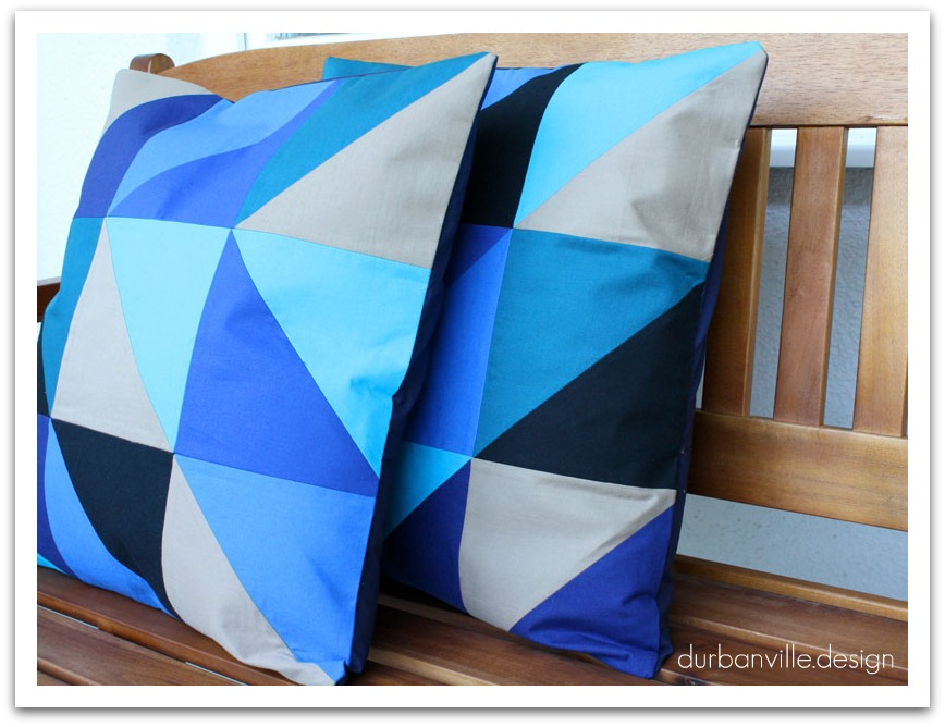 ferm living inspired cushion tutorial. Black Bedroom Furniture Sets. Home Design Ideas