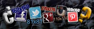 Tamaño de perfiles en redes sociales
