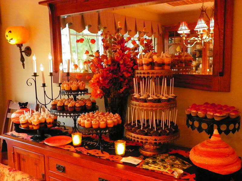 Plumeria Cake Studio Fall Dessert Buffet