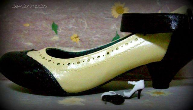 teñir zapatos