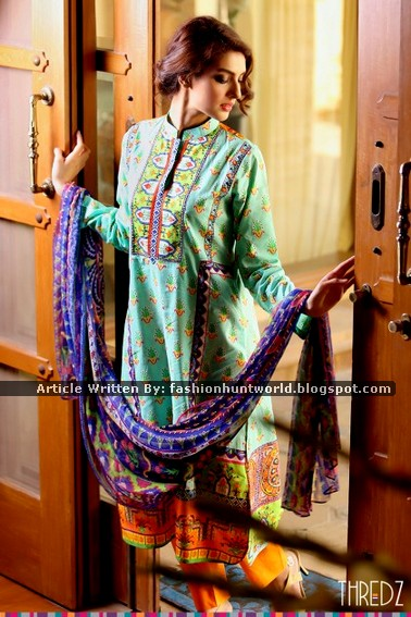 Thredz Chiffon - Lawn Suits