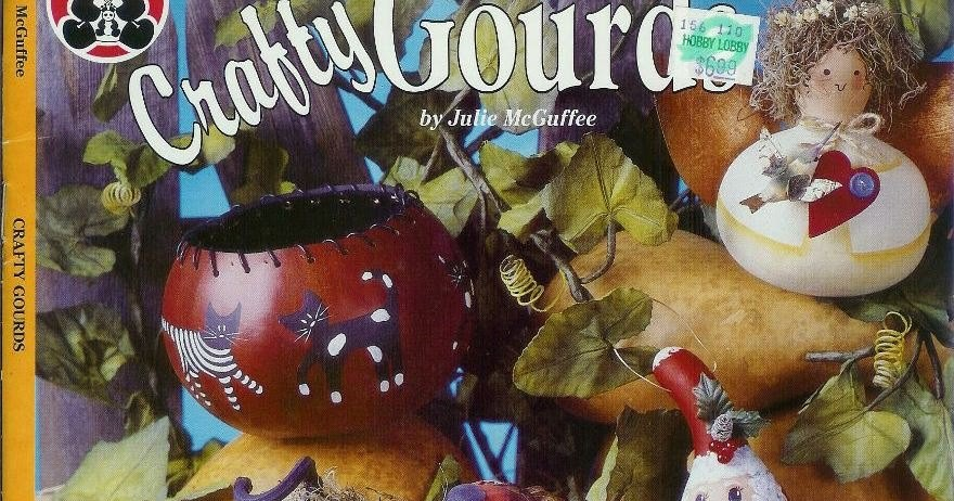 Free Craft Book Download Crafty Gourds Miracle Hands