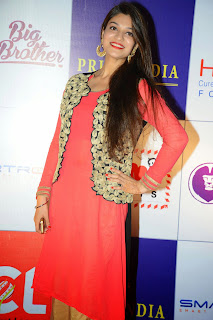 Actress Siya Goutham Picture Gallery in Stylish Dress at CCL Charity Dinner 13