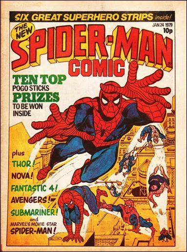 Spider-Man Comic, Marvel UK