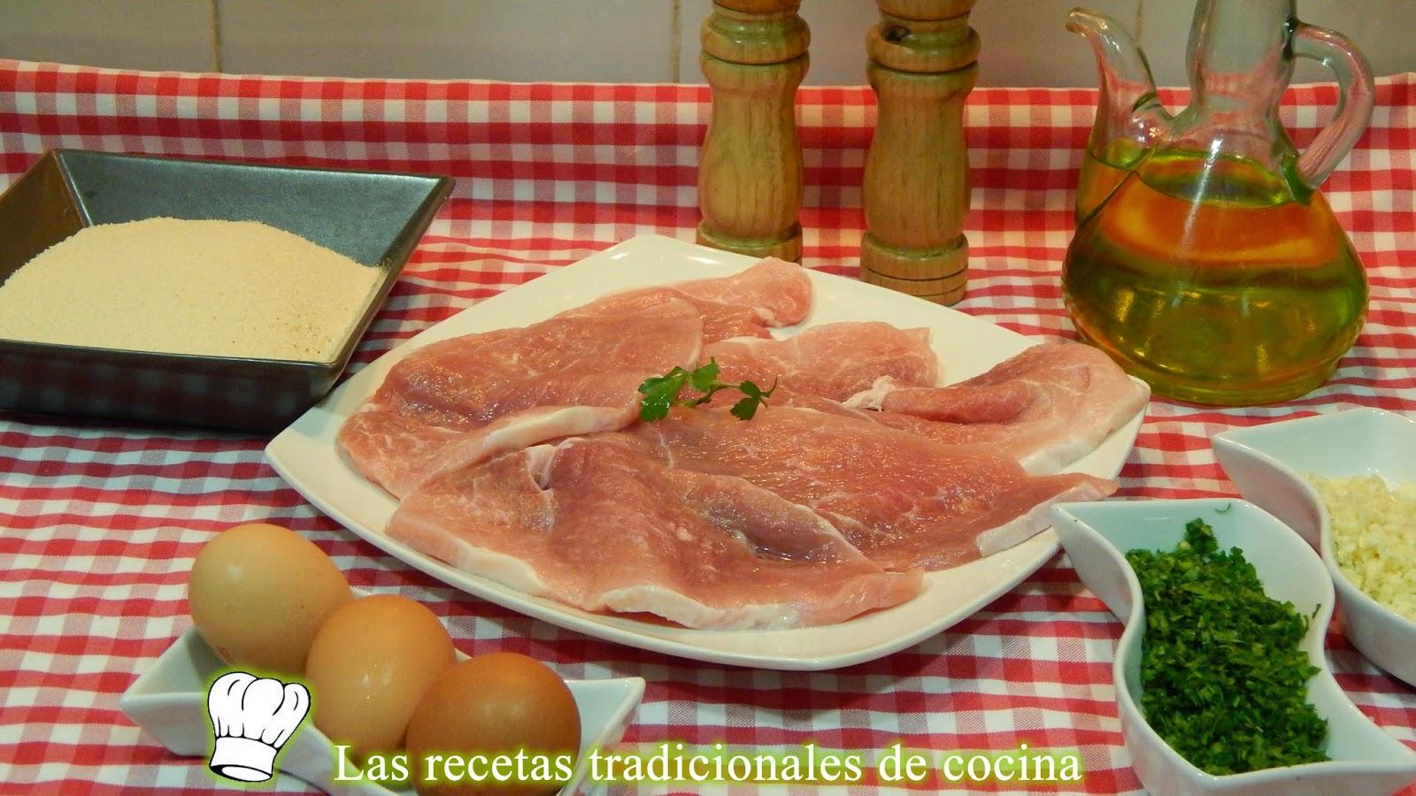 Receta fácil de magro de cerdo empanado