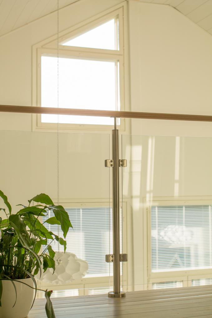 lasikaide korkeat ikkunat erikoinen ikkuna