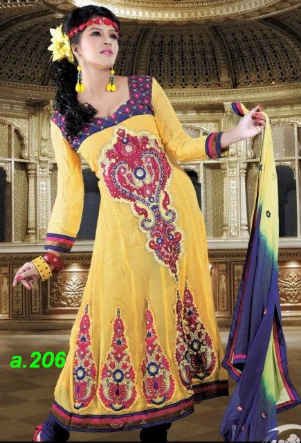 Frocks-anarkali-fancy-fashion-unmbrella-churidar-party wear-dress-of