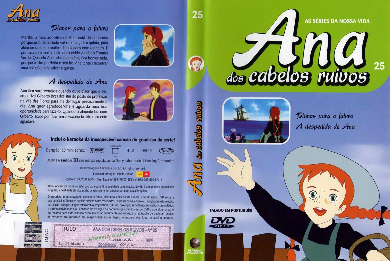 Ana dos Cabelos Ruivos Vol.1 A 25  PT-PT Ana+dos+Cabelos+Ruivos+Vol.25%28capa%29