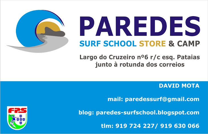 Paredes Surf School