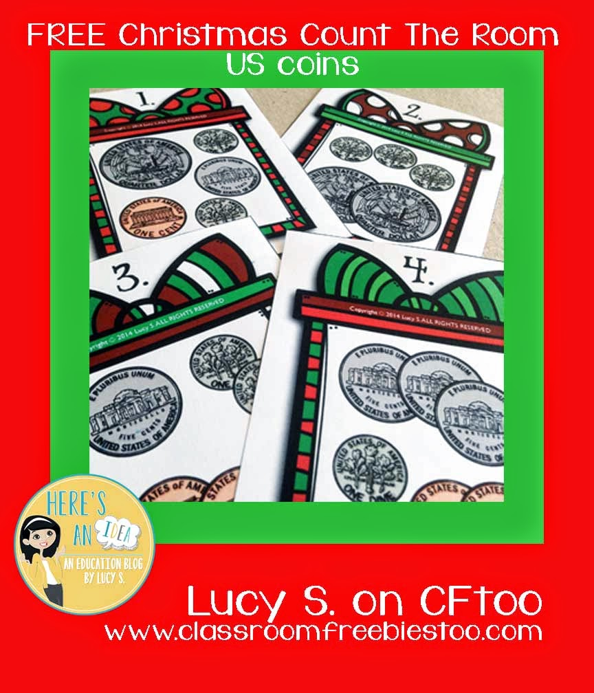 FREE Christmas Count The Room (US coins) by Lucy S.