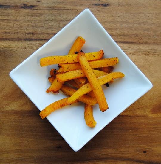 how to cut butternut squash fries