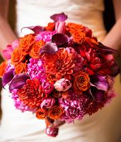 Hoa cưới kiểu tròn 8