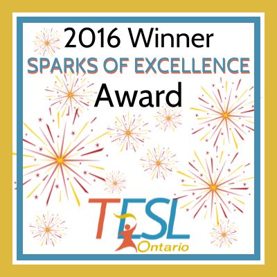 Sparks of Excellence Award Winner 2016
