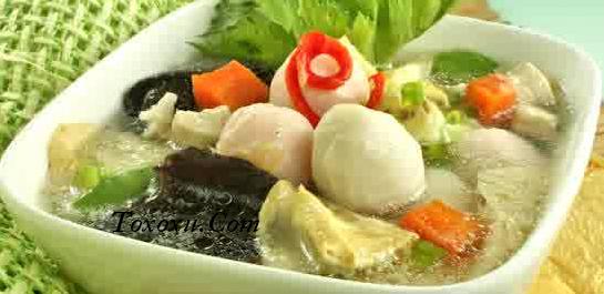 Resep Sayur Sup Bakso
