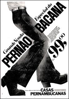 moda masculina decada de 70; moda anos 70; propaganda anos 70; história da década de 70; reclames anos 70; brazil in the 70s; Oswaldo Hernandez