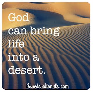 God can bring life